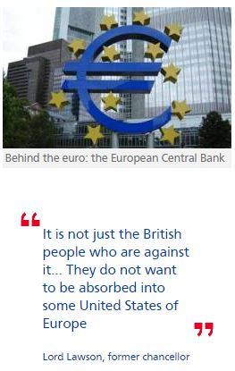 Europe 'must dismantle euro in orderly way,' says Lawson