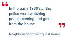 Police 'twice failed to probe paedophile ring at guest house'