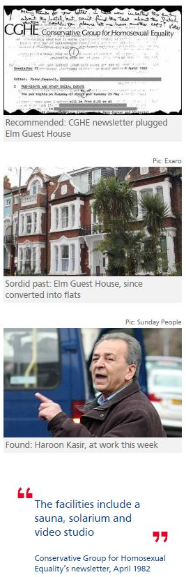 Tory group recommended guest house in Met's paedo probe