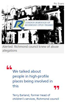 Richmond council 'was alerted to allegations of child sex abuse'
