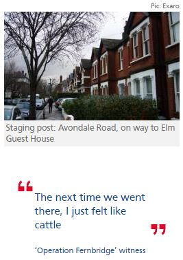 Detectives investigate use of 'staging post' for Elm Guest House