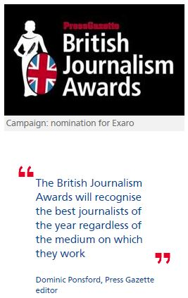 Exaro and David Hencke up for top awards over CSA inquiry