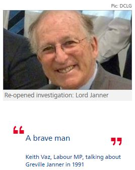 Lord Janner faces re-opened police probe into child sex abuse