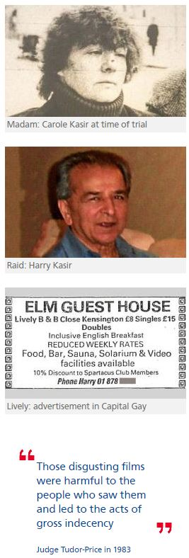 Revealed: Carole Kasir and her squalid life at Elm Guest House