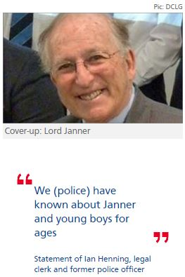 Police raided this former officer in 'cover-up' for Lord Janner