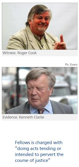 Roger Cook to testify in trial of Ben Fellows over Kenneth Clarke