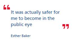 Video: Esther Baker on how police have stepped up abuse case