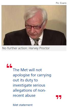Harvey Proctor in clear as Yard closes 'Operation Midland'