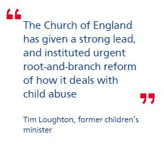Clergy to be given training on 'safeguarding' children in CoE