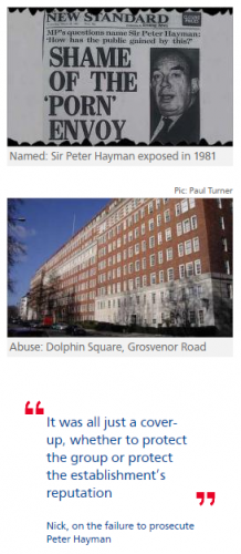 Ex-MI6 chief named as sexual abuser of boys at Dolphin Square