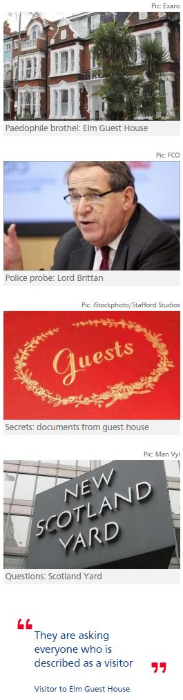 Leon Brittan faced Met questions over Elm Guest House 'visits'