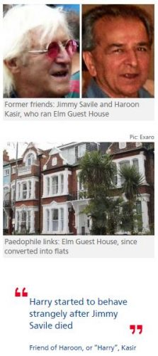 Met detectives told of Jimmy Savile's link to Elm Guest House