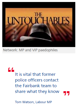 MP paedophiles were 'Untouchables' – ex-Special Branch officer