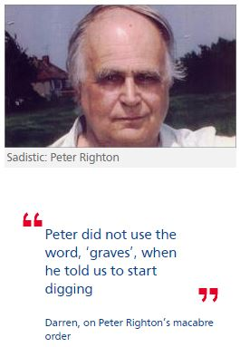 Paedophile linchpin Peter Righton 'carried out sadistic murder'